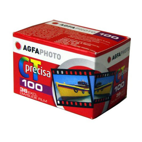 Agfa Precisa CT100 135-36 colour slide film (Pack Size Options)