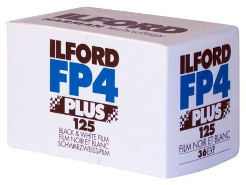 Ilford FP4 Plus 125 135-36 Film (Pack Size Options)