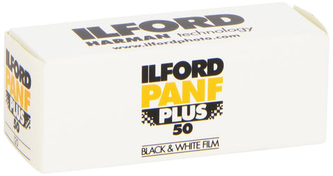 Ilford Pan F Plus 120 Film Roll (Pack Size Options)