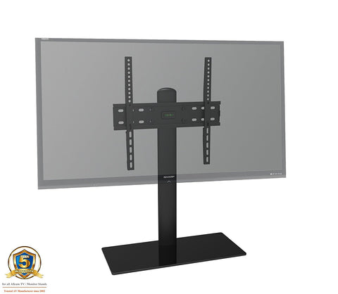 "Allcam TB01 Universal TV Desk Stand Riser Table Top Stand for 32"" to 60"" TVs"