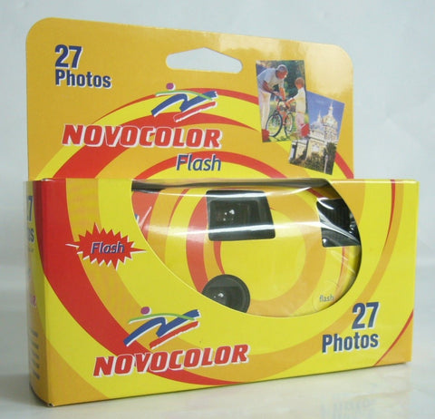 Novocolor disposable wedding camera 27 images with flash