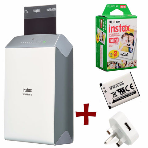 Instax Share SP-2 Photo Printer with Film - Bundle Options Available