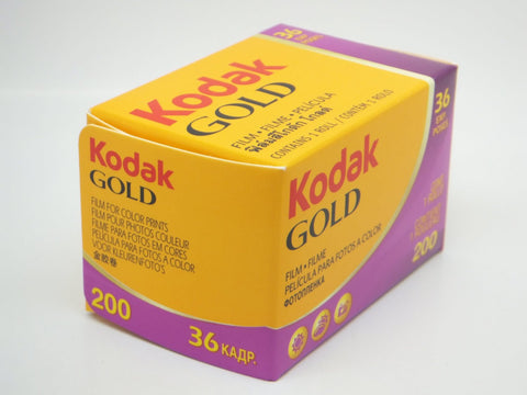 Kodak Gold 200 35mm, 36 exposure, ISO200 (Pack Size Options)