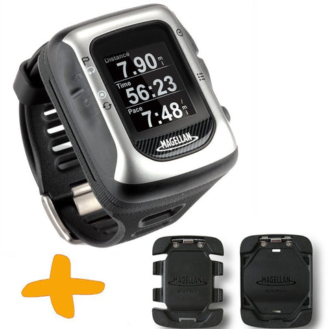 Magellan Switch UP GPS Sports Watch w/ Mounts (Crossover GPS Watch for multiple sport activities: Running, Jogging, Swimming, Cycling, Waterproof to 50 Metres)