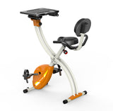 Allcam Office or Home Folding Exercise Bike w/ mini computer (measure burned calories, speed, distance & pulse)