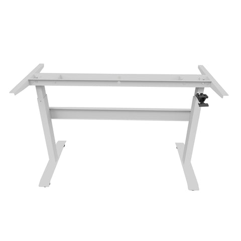 GDF02M Gas Spring Height Adjustable Standing Desk Frame/ Sit-Stand Workstation