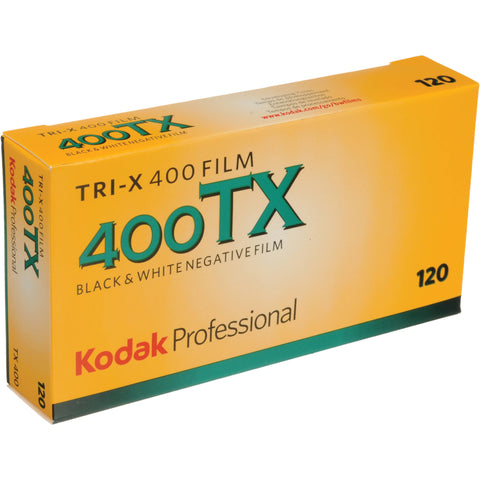 Kodak Tri-X 400 TX 120 Film Roll (5 Pack)