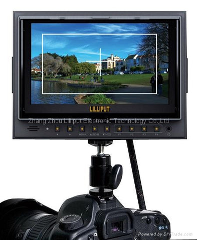 Lilliput 5D II/O/P 7'' On-Camera Field Monitor with HDMI input/output & Peaking