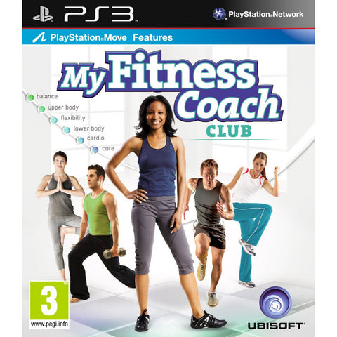 My Fitness Coach Club Workout Exercise Game For PS3. (Requires Playstation Move)