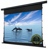 "PCW133MET 133"" HD Projector Screen 16:9 Widescreen Tab-Tensioned Electric Motorised w/ RF Remote"