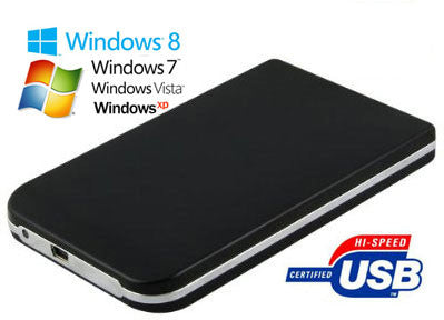 "USB 2.0 Enclosure for 2.5"" Laptop Hard Drives"