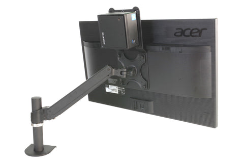 Universal Nuc Mini Pc Mount For Mounting To Lcd Monitor