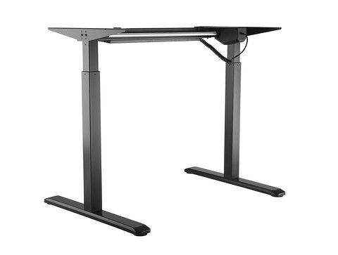 EDF01SN Single-motor Height Adjustable Standing Desk Frame in White or Black