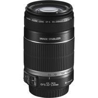 Canon EF-S 55-250mm f/4-5.6 IS Telephoto Zoom AutoFocus Lens