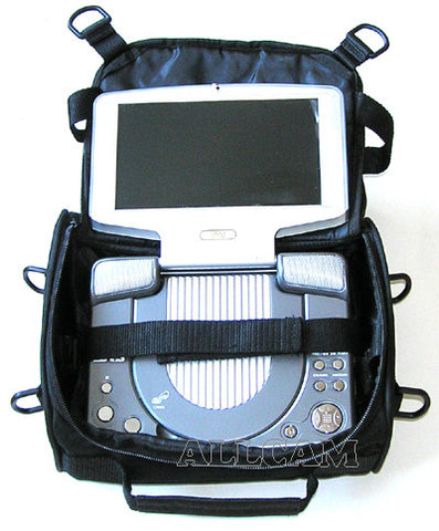 "Carry Case/Car Harness for 9""/10"" Portable DVD Players"