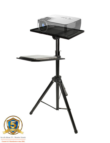 Allcam ACET750 Universal Projector Stand Tripod / Laptop Table / Speaker Mount