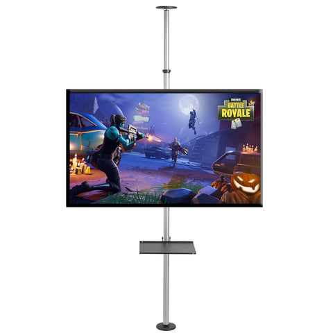 FCM63M Floor-to-Ceiling TV Mount Telescopic Tension Pole for 37″ to 75″ LCD/LED Screens