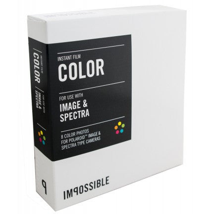 Impossible Impossible Colour Instant for Polaroid Image / Spectra Cameras (Pack Size Options)