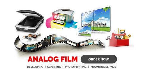 Film Processing Service for 120 Reversal Slide Film (Free Post)