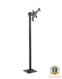 "FS945 Bolt Down Floor Stand with Vesa Bracket + Universal Single / Twin Adjustable Tablet Mount for all iPad, Samsung Galaxy Google Nexus and all 8"" to 12"" Tablets"
