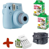 Fuji Instax Mini 8 Instant Camera Premium Bundle w/ Film, Case, Batteries & Charger