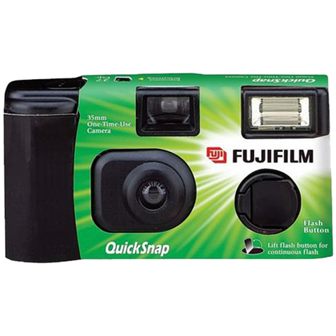 Fuji Quicksnap Single use flash camera X-tra 400 27exp