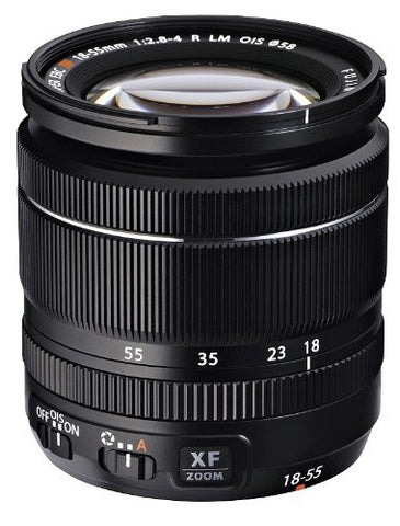 Fujinon XF 18-55mmF2.8-4 R LM OIS Lens for Fuji CSC Cameras (optional Accessory Kit)