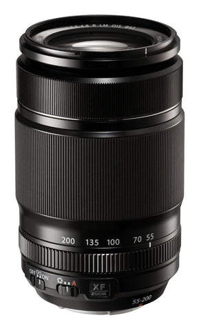Fuji XF 55-200mm f3.5-f4.8 R LM OIS Lens (optional Accessory Kit)