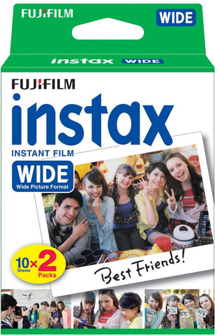 Fuji Instax Wide Format Film Twin Pack for Fujifilm Instant Cameras 300 210 200