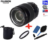 Fuji XF 18-135mm f3.5-5.6 WR LM OIS Lens +UV Lens Filter + Pouch+ Cleaning Kit