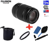 Fuji XF 55-200mm f3.5-f4.8 R LM OIS Lens +UV Lens Filter + Pouch+ Cleaning Kit