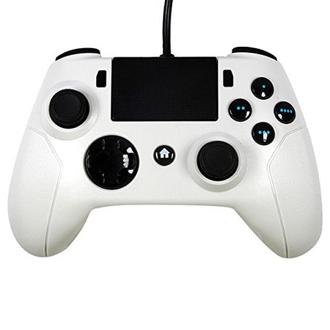 Gator Claw Sony Playstation PS4 Controller wired w/ Upgraded Firmware - White
