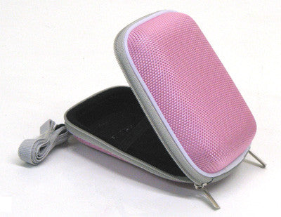 Pink Hard Case for Compact Digital Cameras Canon Fuji Sony Nikon