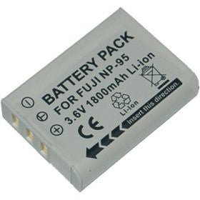 Inov8 Replacement Lithium Battery Fuji NP-95 for Fujifilm F30 F31