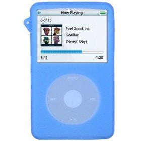 Silicone Skin/Case for iPod Video 30GB Blue