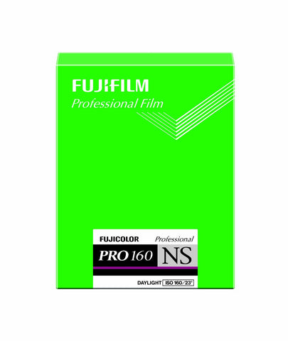 Fuji Pro 160NS Large Format 4x5 Colour Negative Film (20pc)