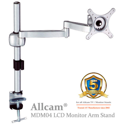 MDM04 LCD Monitor Desk Mount Bracket Dual Arms Swivel & Tilt