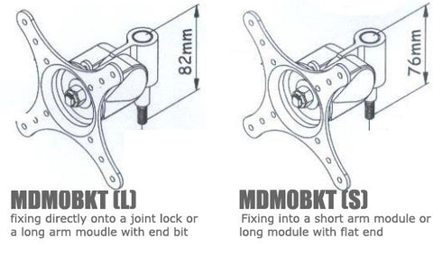 VESA Bracket for MDM04 MDM05 MDM06 MDM07 Multi Monitor Arm Bracket
