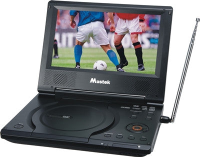 "Mustek MP86ATV 8.5"" Portable DVD Player w/ Analog TV"
