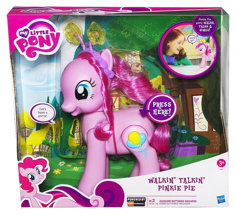 Hasbro My Little Pony Walkin Talkin Pinkie Pie Figure w/ batteries