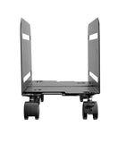Allcam CPU Holder Computer Floor Trolley or Under Desk / Wall Mounted w/ Free 360° Swivel, Adjustable size to accommodate most ATX size cases