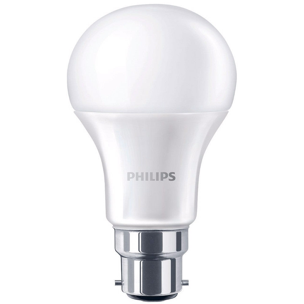 6 pack philips 9w b22 led bulbs globe frosted 806lm 2700k warm white ebay. Black Bedroom Furniture Sets. Home Design Ideas