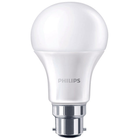 Philips 9W B22 LED Bulb Bayonet Globe  806lm ~60W Incandescent FROST (pack size Options)