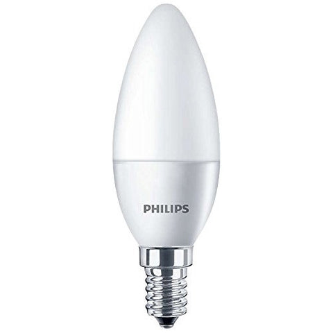Philips 4W LED Candle Light Bulb E14 Small Edison Screw Warm White 250lm