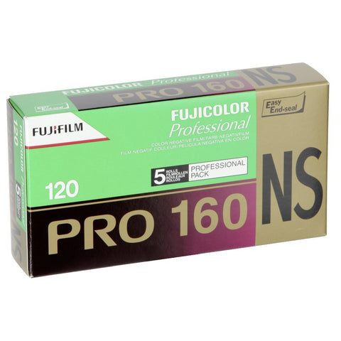 Fuji Pro160NS 120Size ISO160 Color Negative Film (5 Pack)