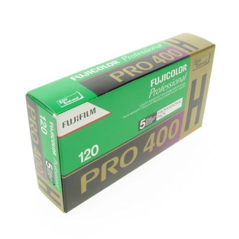 Fujifilm Pro 400H 120 Size ISO400 Color Negative Film (5 Pack)
