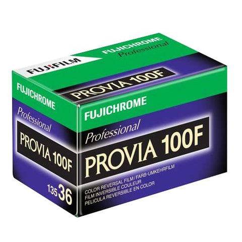Fuji Provia 100F RDP III 35mm 36 Exposures Colour Negative (pack size Options)