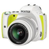 Pentax KS1 Digital SLR Camera w/ 18-55mm Lens, 16GB WiFi Card, Case Bundle