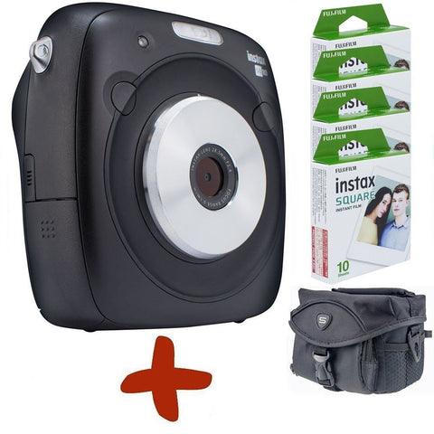 Fuji Instax SQ10 Instant Film & Digital Camera Hybrid (Bundle Options)