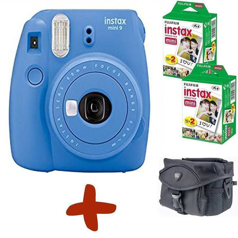 Fuji Instax Mini 9 Instant Film Camera - Colours & Bundle Options Available